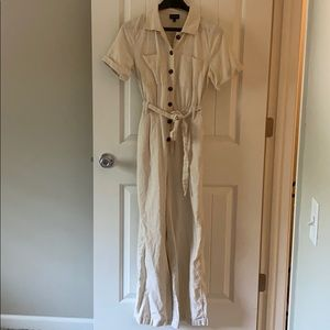 Who What Wear Linen Jumpsuit